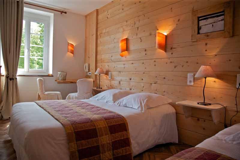 Chambre quadruple Hôtel à Lamoura - Les Rousses