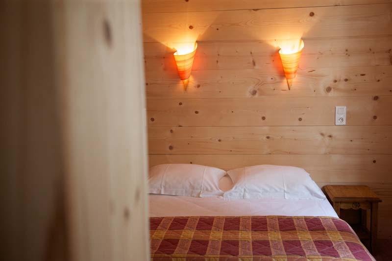 Chambre single Hôtel à Lamoura - Les Rousses
