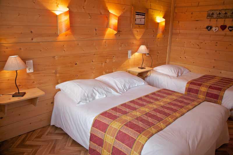 Chambre triple Hôtel à Lamoura - Les Rousses